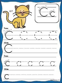 Write & Wipe - Alphabet Handwriting Cards