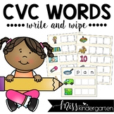 CVC Words Write & Wipe Cards