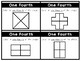 Write & Wipe: Color One-Fourth Math Center