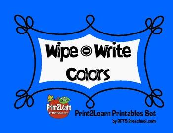 Write Wipe Colors