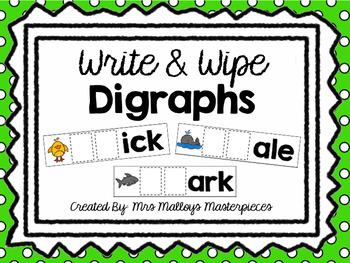 Write & Wipe Digraphs