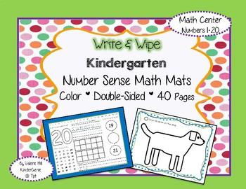Number Sense Math - Kindergarten