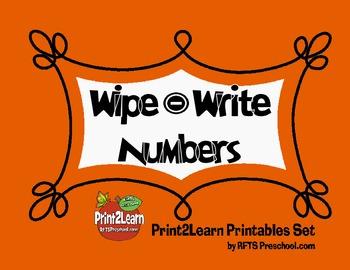 Write Wipe Numbers