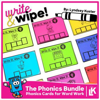 Write & Wipe Phonics Bundle