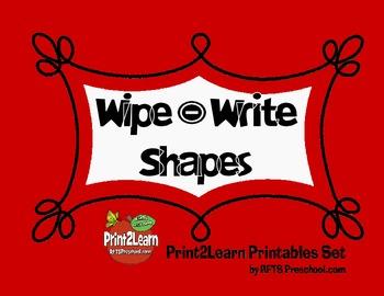 Write Wipe Shapes