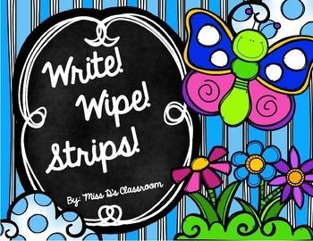 Write! Wipe! Strips