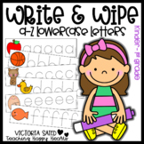 Write & Wipe {a-z Lowercase Letters}