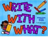 Write With What?