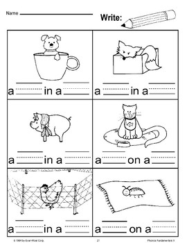 Write Words and Pictures