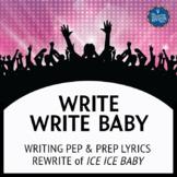 Testing Song Lyrics for Ice Ice Baby