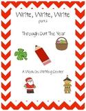 Write, Write, Write Part 2 Work on Writing Center