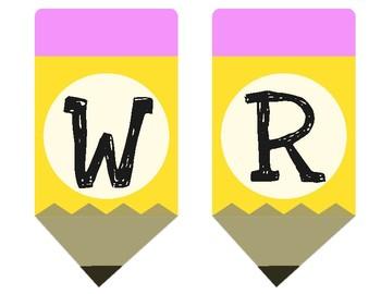 Write/Writing Banner