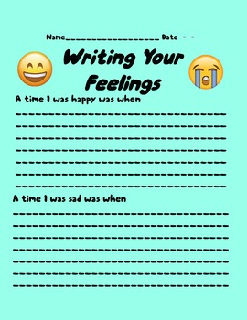 Write Your Feelings