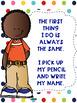 Write Your Name FREEBIE Colorful Cute Kids Theme