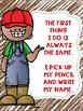 Write Your Name FREEBIE Farm Theme