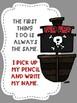 Write Your Name FREEBIE Pirate Theme