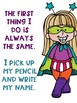 Write Your Name FREEBIE Superhero Kids Theme