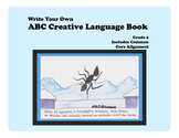 Write Your Own ABC Creative Language Book--Grade 5