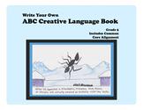 Write Your Own ABC Creative Language Book--Grade 5