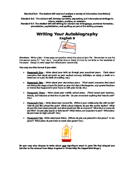 Write Your Own Autobiography