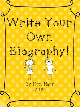 Write Your Own Biography!