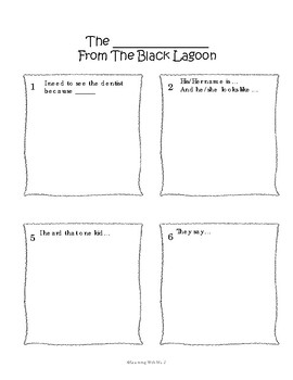 Story Writing Made Simple: Write Your Own Black Lagoon Story