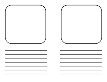 Write Your Own Book Template - First Next Then Last and Blank