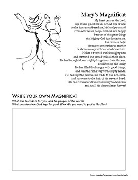 Write Your Own Magnificat