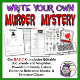 Middle School Forensics: Write Your Own Murder Mystery - Basic Kit