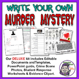 Middle School Forensics: Write Your Own Murder Mystery - Deluxe Kit