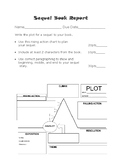 Write Your Own Sequel Book Report Rubric