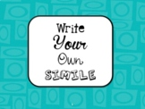 Write Your Own Simile