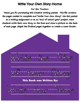 Write Your Own Story-House Outline