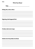 Write Your Story template