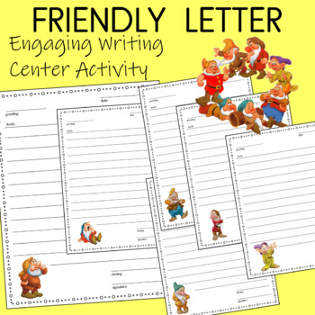 Write a Friendly Letter to One of the Seven Dwarfs