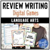 End of Year Activity: Write a Game Review