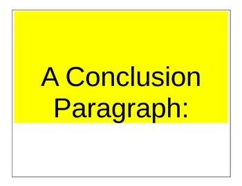 Write a Great Conclusion Paragraph for an Argument Essay