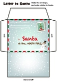 Write a Letter to Santa | Envelope and Letter Stationary Set