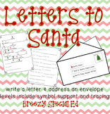 Letter to Santa: Symbol Support, Tracing and More! For Special Education