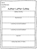 Write a Letter to an Author Writing Outline Organizer