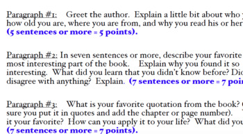 Write a Letter to the Author (30 point assignment)