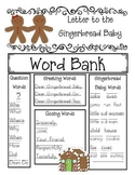 Write a Letter to the Gingerbread Boy, Girl or Baby