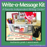 Write-a-Message Kit