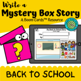 Write a Mystery Box Story: Back to School (Boom Cards™)