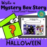 Write a Mystery Box Story: Halloween (Boom Cards™)