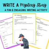 Write a Mystery Story- A Fun and Engaging Middle School Writing Activity