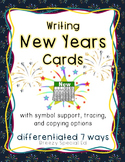 FREE New Years Card / Resolutions: Differentiated for your