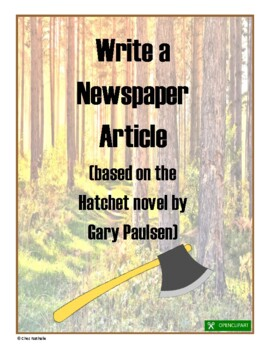 Write a Newspaper Article (based on Hatchet novel)
