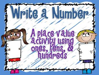 Write a Number: Place Value
