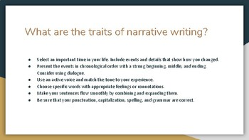 Write a Phase Autobiography